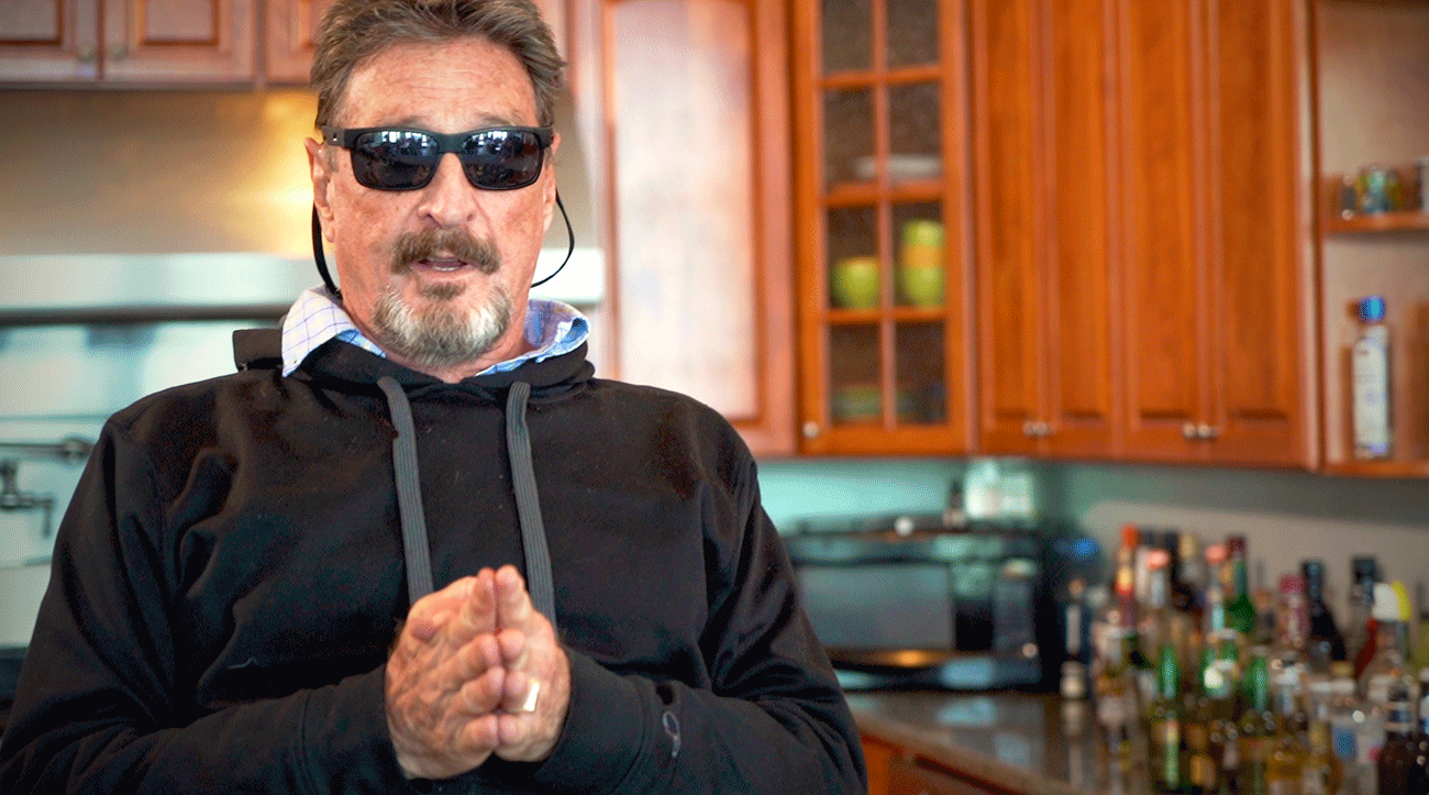John McAfee Interviewed For Adventures In Crypto Show
