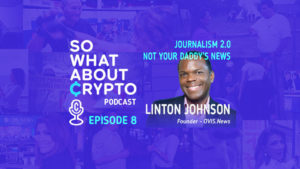 Linton Johnson of OVIS.News. Journalism 2.0 Not Your Daddy' News